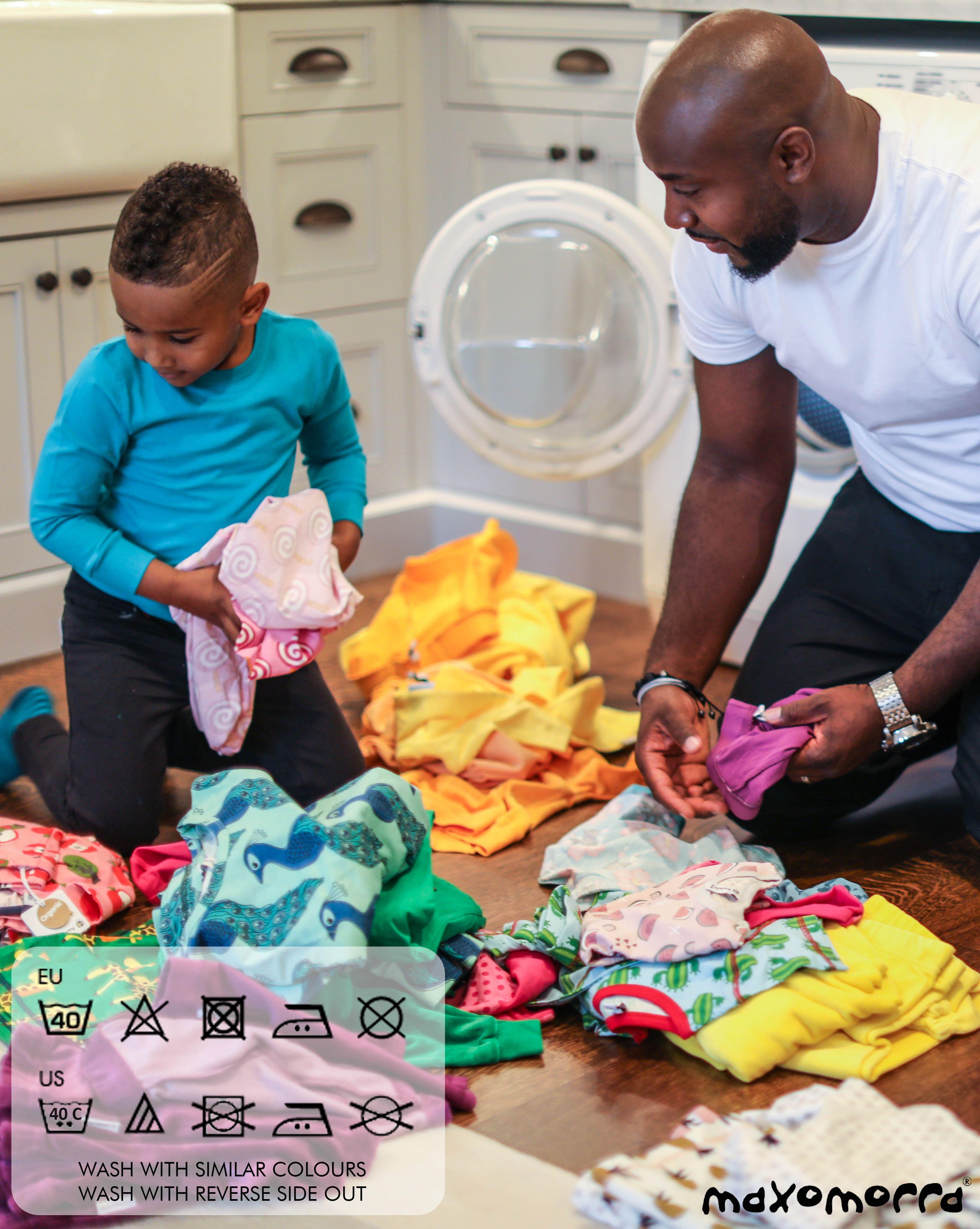 Maxomorra Kinderkleidung waschen