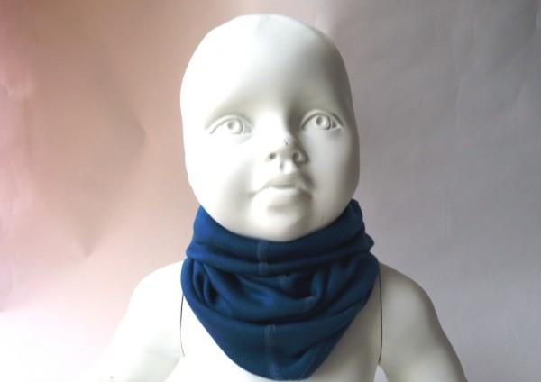 Pickapooh Strunzl Wolle/Seide Schlauchtuch ocean blau
