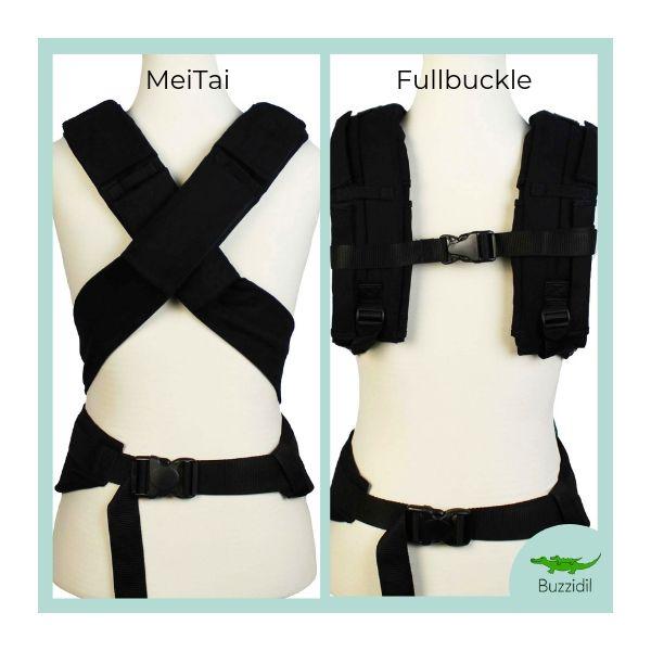 BuzziTai von hinten - Fullbuckle oder MeiTai