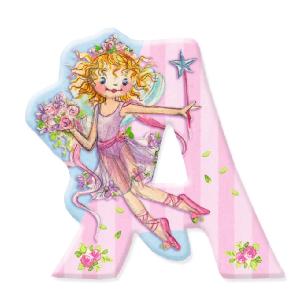 A - Buchstabe Prinzessin Lillifee selbstklebend | Prinzessin ...