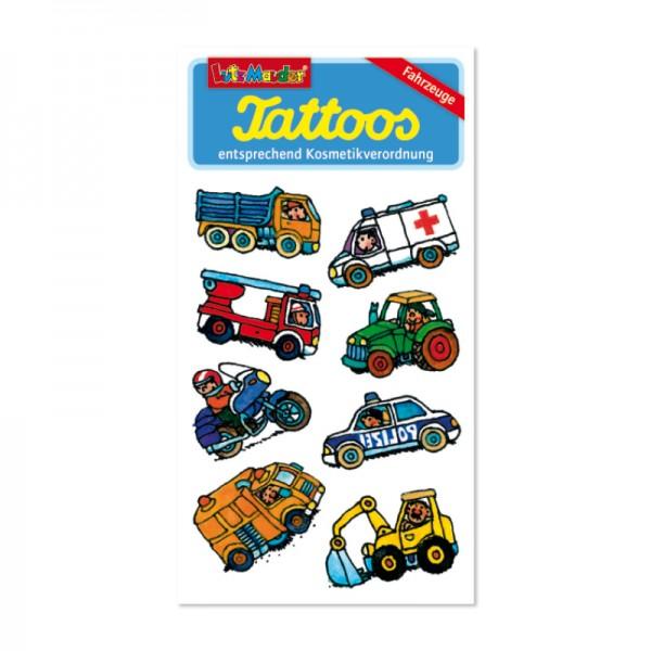 Tattoo Fahrzeuge vom Lutz Mauder Verlag (1 Stück)