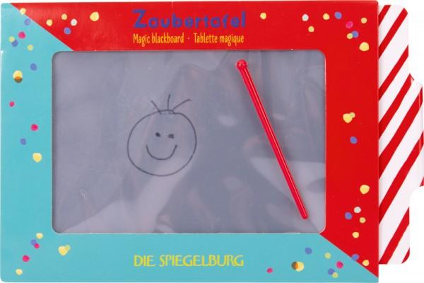 Zaubertafel mit ABC Lernkarte - Bunte Geschenke
