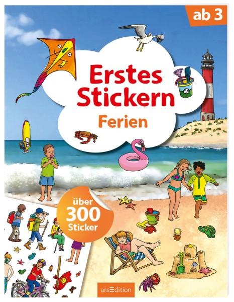 Erstes Stickern - Ferien