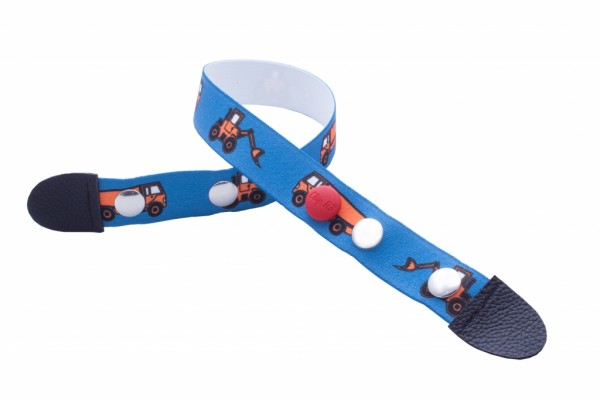 Clip.Ho Bagger blau - der clevere Kindergürtel mit dem Clip