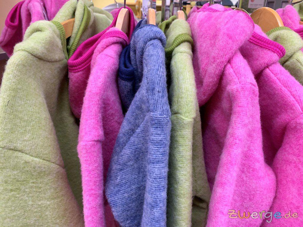Jacken und Overalls aus Wolle bei ZWERGE.de