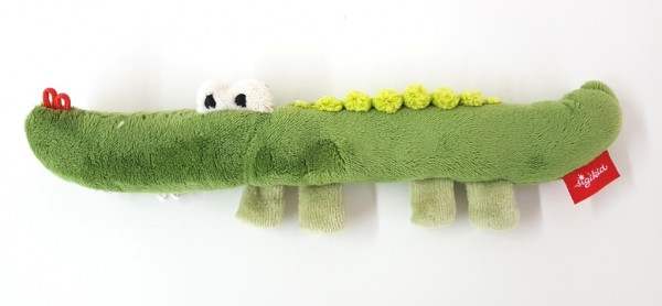 Sigikid Rassel / Greifling Krokodil 24cm 41178