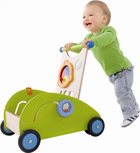 Lauflernwagen Holz Gebraucht Haba ~   Puppen Puppenwagen Lauflernwagen Rundherum Holz HABA Selection 5888
